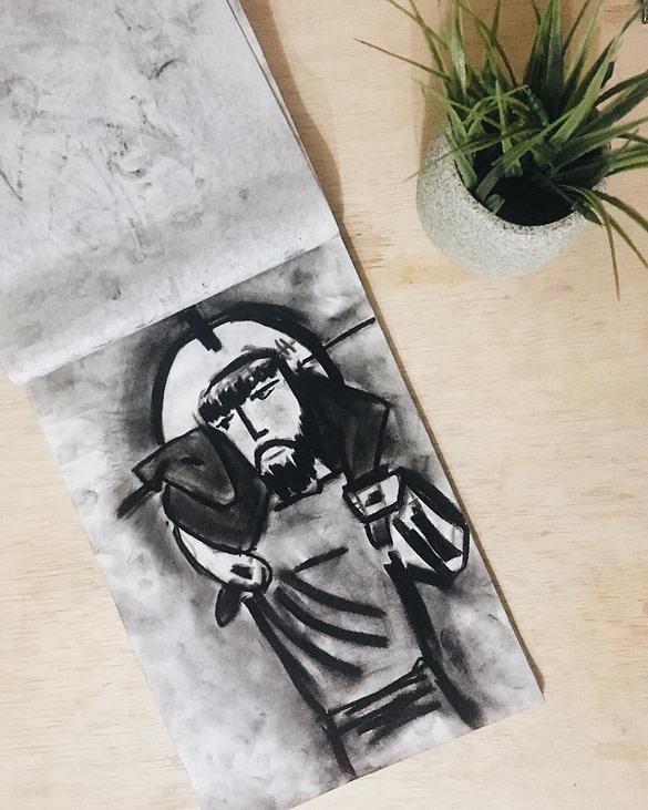 O Bom Pastor | Artes Plásticas 1 | junho 28, 2019 | Artes Plásticas | Bits - Visual Artist